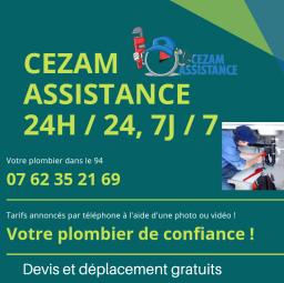 plombier Cezam assistance Saint Maurice