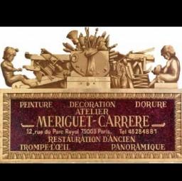 logo peintres ATELIER MERIGUET CARRERE Paris 3e arrondissement