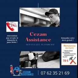 plombier Cezam assistance Champigny Sur Marne