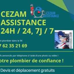 plombier Cezam assistance Boissy Saint Léger