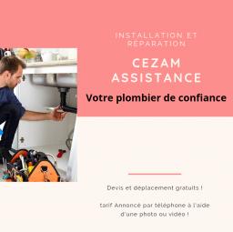 plombier Cezam assistance Sceaux