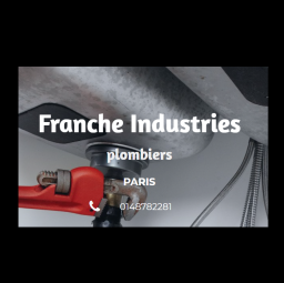 logo plombiers FRANCHE INDUSTRIES Paris 9e arrondissement
