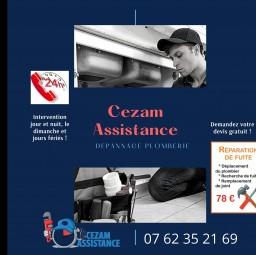 plombier Cezam assistance Maisons Alfort