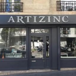 logo couvreurs ARTIZINC Paris 20e arrondissement