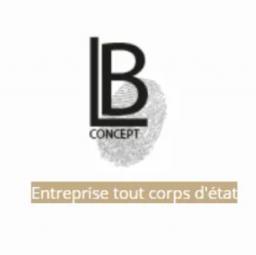 logo menuisiers LB CONCEPT Nanterre