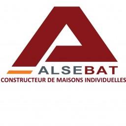 logo maçon MAISONS ALSEBAT constructeur maison individuelle sur-mesure Neufchâteau