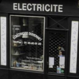 logo electriciens ELECTRICITE DUVERNET Paris 14e arrondissement