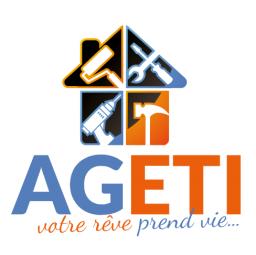 logo entreprises de bâtiment AGETI La Garenne Colombes
