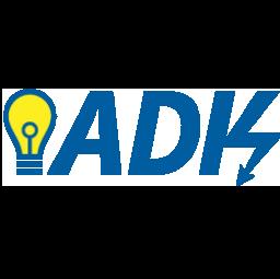 logo electriciens A. D. K. Paris 12e arrondissement