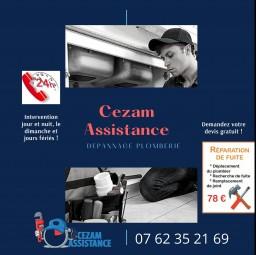 plombier Cezam assistance Issy Les Moulineaux
