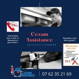 plombier Cezam assistance Cachan