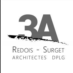 logo architectes 3A REDOIS-SURGET La Chevrolière