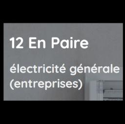 logo electriciens 12 EN PAIRE Paris 12e arrondissement