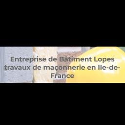 maçon ENTREPRISE GENERALE DE BATIMENT LOPES Clamart