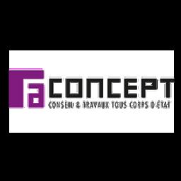 logo entreprises de rénovation FA CONCEPT Courbevoie