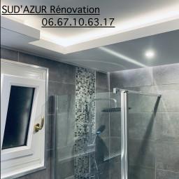 logo entreprise de rénovation SUD AZUR RENOVATION Châteauneuf Les Martigues