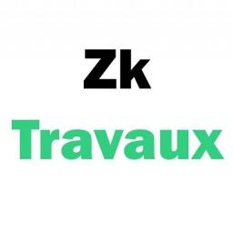 logo plombiers ZK TRAVAUX Paris 17e arrondissement