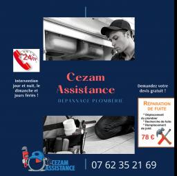 plombier Cezam assistance Villeneuve Saint Georges