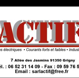logo electricien ACTIF Grigny