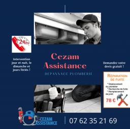 plombier Cezam assistance Bondoufle