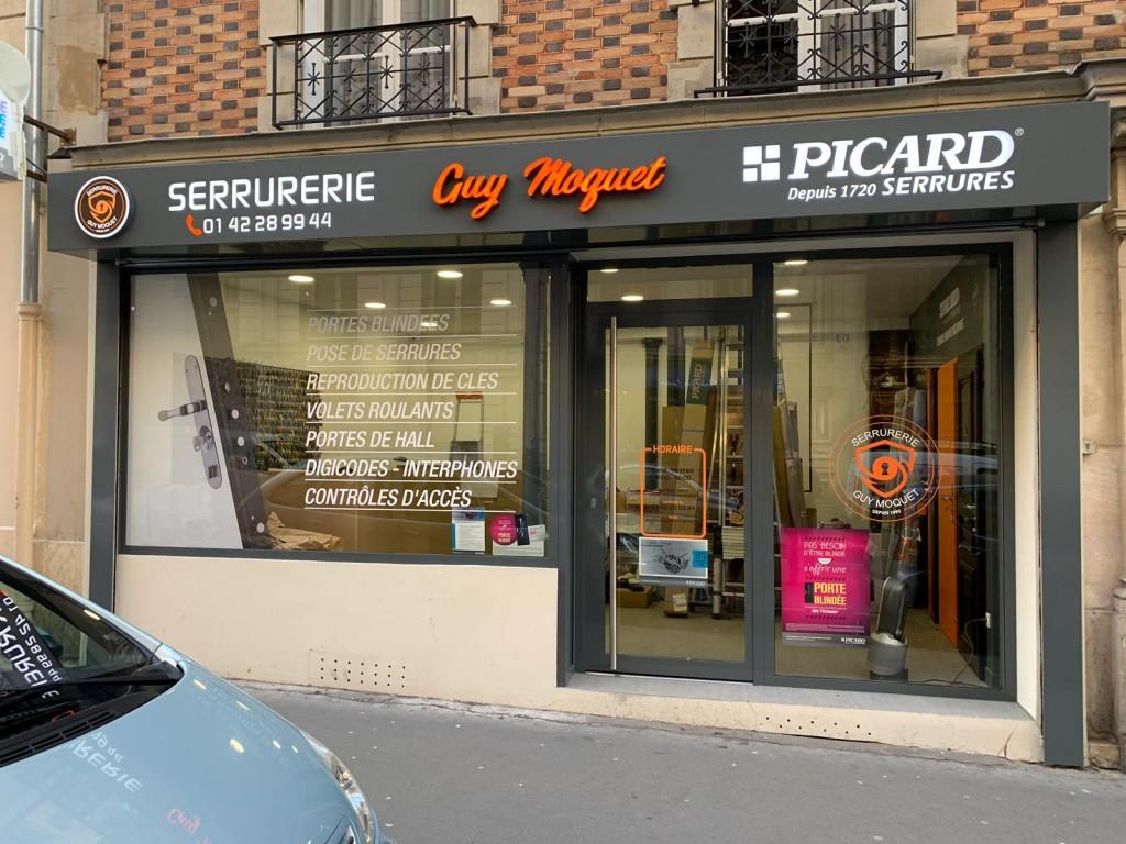 Photo de couverture SERRURERIE GUY MOQUET à Paris 17e arrondissement