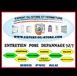logo menuisiers L EXPERT DU STORE ET FERMETURE Gonesse