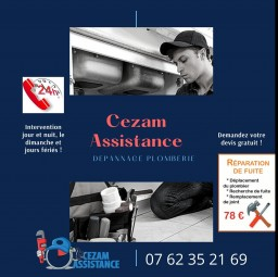 plombier Cezam assistance Ablon Sur Seine