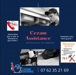 plombier Cezam assistance Crosne