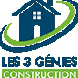 logo maçons LES 3 GENIES CONSTRUCTION Paris 16e arrondissement