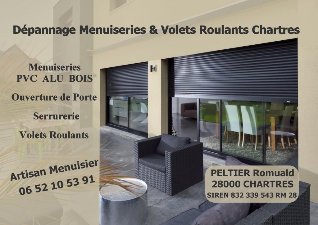 Photo de couverture Dépannage Menuiseries & Volets Roulants Chartres à Chartres