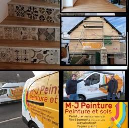 logo peintres Sarl M-J peinture Vire