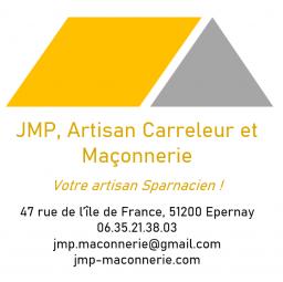 Logo JMP ARTISAN CARRELEUR ET MACONNERIE Épernay