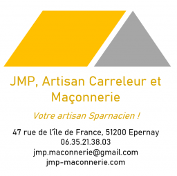 logo JMP ARTISAN CARRELEUR ET MACONNERIE - Épernay