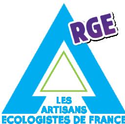 logo entreprise d'isolation LES ARTISANS ECOLOGISTES DE FRANCE Levallois Perret