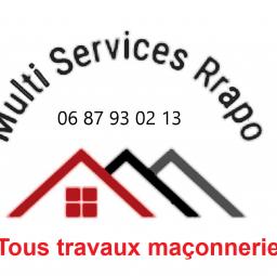 logo maçons MULTISERVICES.RRAPO Travaux de maçonnerie générale et gros oeuvre de bâtiment Saint Jean De Maurienne