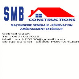 logo maçons SMB CONSTRUCTIONS Pontarlier